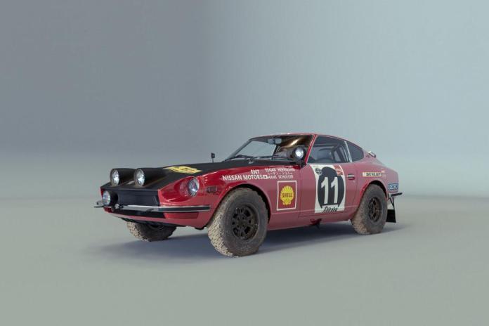 Nissan Juke hommage 240Z