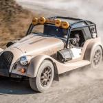 Morgan Plus Four CX-T en mode rallye-raid Le roadster hors-pistes !