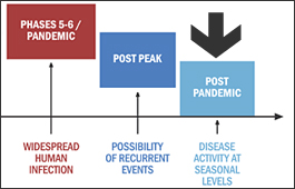 Post-pandemic phase <font face=Arial size=-2>(Source: WHO)</font>