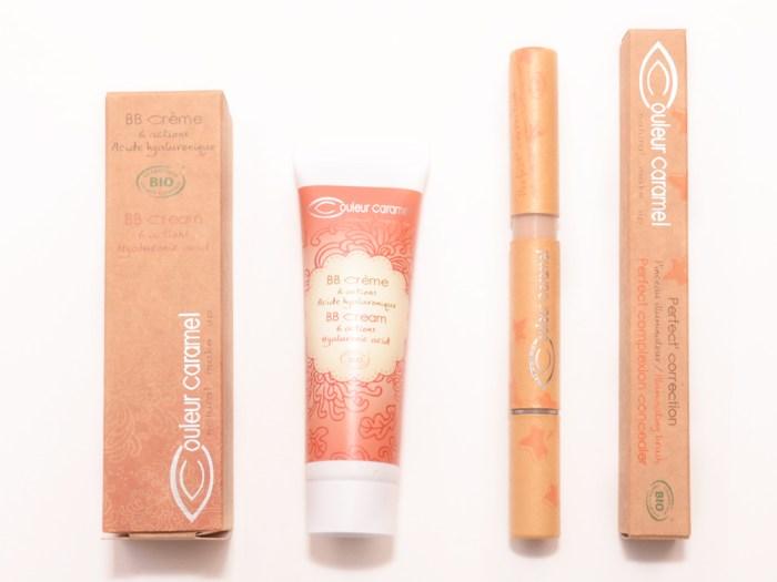 maquillage bio caramel