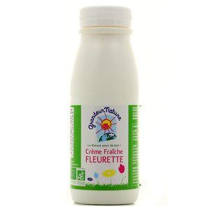 creme fleurette bio