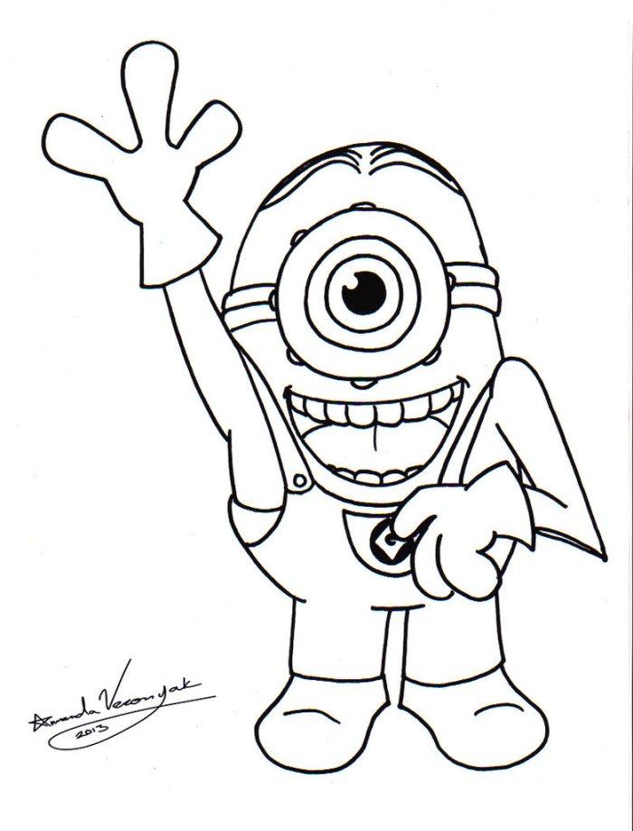 dessin de minion