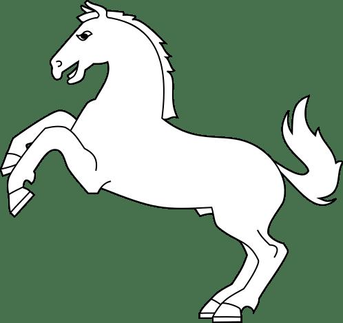 coloriage a imprimer de chevaux