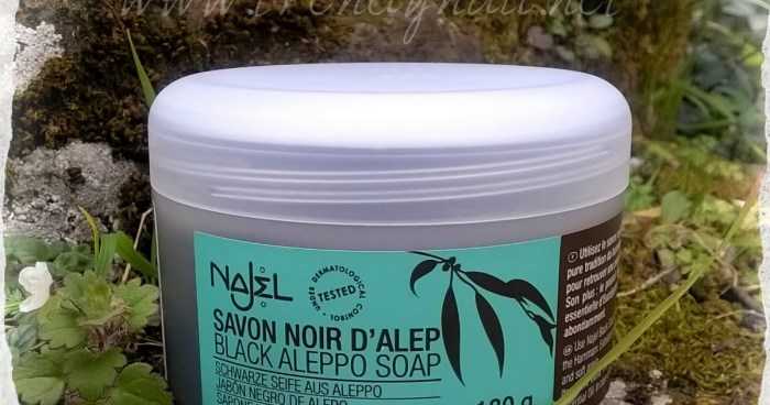 savon d alep najel