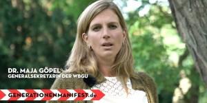 Dr. Maja Göpel
