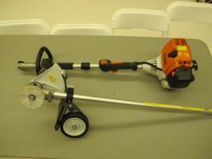 lawn & garden rental 09-1011 Stihl lawn edger combo tool