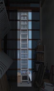 rental 10-1001 Extension ladder 28ft