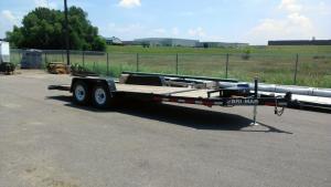 rental 02-1006: 20' hydraulic tilt bed trailer