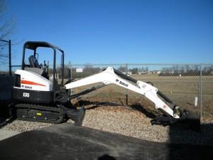 rental excavation tools Bobcat E35 Excavator ZTS