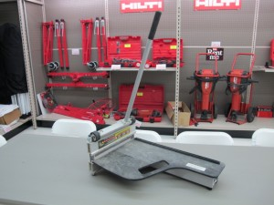 Rental 19-1014: Manual Hardie Siding cutter