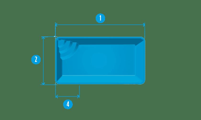 piscine coque kit modele mejean