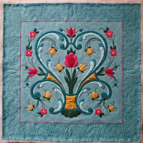 Quilting A New Applique Quilt. Generations Quilt Patterns Rogaland