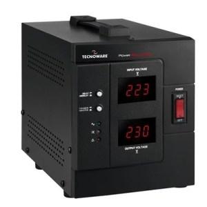 STABILIZZATORE ELETTRONICO TECNOWARE -FSTELPRE2000M- 2000VA/1600W OUT:230VAC CON DISPLAY IN/OUT