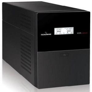 UPS TECNOWARE EXA-LCD 2.0 -FGCEXALCD2002- 2000VA/1400WATT (CASHBACK*) SINUSOID +STABILIZZ. +PROT.RJ11/45 +USB/RS232 X SW(DA WEB)