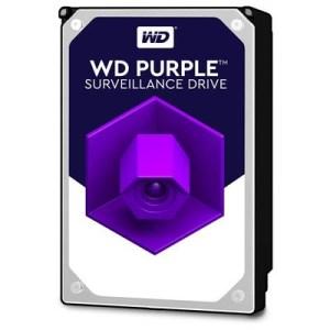 "HARD DISK SATA3 3.5"" 3000GB(3TB) WD30PURZ WD 64MB CACHE INTELLIPOWER PURPLE VIDEOSORVEGLIANZA 24X7"