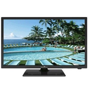 "TV LED SMART-TECH 23.6"" WIDE LE2419DTS DVB-T2/S2 HD 1366X768 BLACK CI SLOT HM HDMI VGA USB  VESA"