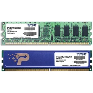 Ddr2 2gb Pc2-6400 800mhz Psd22g80026 Patriot