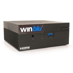 Mini-pc Winblu Easy L7 0256w10 0.65lt Intel I7-8565u 8gbddr4/2400 500ssdm.2 Glan+wifi+bt W10pro/64 T+m 2y On Site