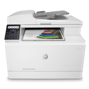 Stampante Hp Mfc Laser Color M183fw 7kw56a White A4 4in1 Adf 16ppm 256mb 1200dpi Lcd Wifi-usb-lan 3yconreg