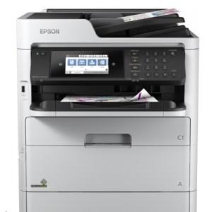 Stampante Epson Mfc Ink Rips Workforce Pro Wf-c579rdtwf C11cg77401bb A4 4in1 34ppm Adf50fg F/r 830fg Lan Wifi