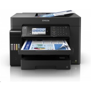 Stampante Epson Mfc Ink Ecotank Et-16650 C11ch71401 A3+ 4in1 32ppm Adf50fg F/r 250fg Lcd Usb Lan Wifi Direct