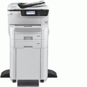 Stampante Epson Mfc Ink Workforce Pro Wf-c8690dtwfc C11cg68401br A3+ 4in1 35ppm 750fg Adf Lcd Usb Lan Wifi Direct Pcl Mobil