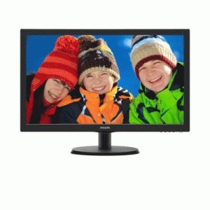 "Monitor Philips Lcd Led 21.5"" Wide 223v5lhsb2/00 5ms Fhd 600:1 Black Vga Hdmi Vesa  Fino:06/07"