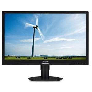 "Monitor Philips Lcd Led 22"" 16:10 220s4lycb 5ms Fhd 1000:1 Black Vga Dvi Dp Pivot Vesa  Fino:06/07"