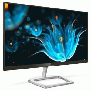 """Monitor Philips Lcd Ips Led 27"""" Wide 276e9qsb/00 4ms Softblue Fhd 1000:1 Silver/black Vga Dvi Vesa Fino:06/07"""