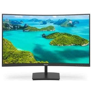 """Monitor Philips Lcd Va Curved Led 27"""" Wide 271e1sca/00 4ms Softblue Mm Fhd 3000:1 Black Vga Hdmi Vesa 2y Fino:06/07"""
