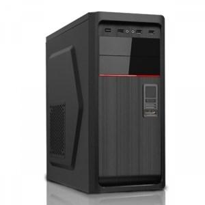 Cabinet Atx Middle Tower Itek Mod. Replay 2.0 - Alim 500w Fan 12cm - 2xusb2+1xusb3 Front. + Cr - Colore Full Black (itp43os)