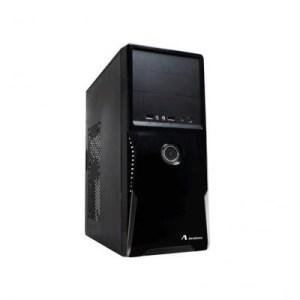 """Cabinet Atx Midi Tower Adj 200-00033 Nero 2x5.25""""1+3x3"""