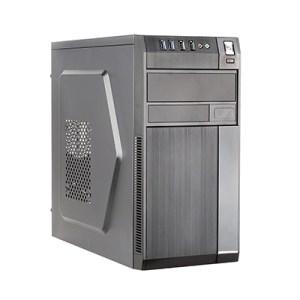 Cabinet Microatx Midi Tower Itek Modello Robb - Alim 500w - 2xusb 3.0 Frontali  - Full Black (itocrb10)