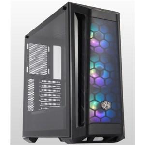 Cabinet Atx Midi Tower Cooler Master Mcb-b511d-kgnn-rga Masterbox Mb511 Black Atx 2x3.5/2.5 2xusb3.0 Argb Lato Trasp. Noalim.