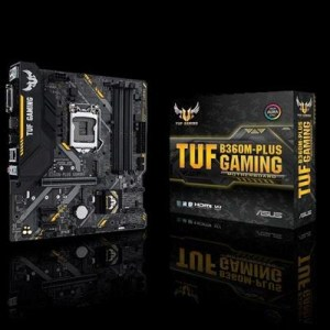 Mb Asus Tuf B360m-plus Gaming B360 1151 4xddr4dc-2666 Vga Dvi-d Hdmi 1xpcie3.0x16 6xsata3 M.2 Usb3.1 Gblan Matx 90mb0wn0-m0eay0