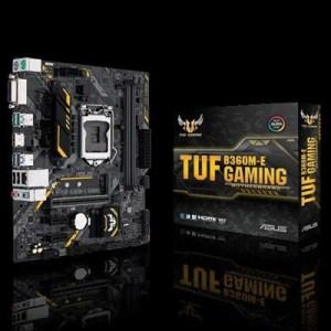 Mb Asus Tuf B360m-e Gaming B360 1151 2xddr4-2666 Vga Dvi-d Hdmi 1xpcie3.0x16 6xsata3 M.2 Gblan Usb3.1 Aura Matx 90mb0wk0-m0eay0