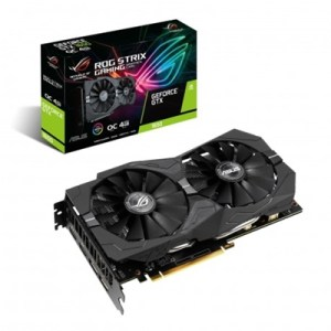 Svga Asus Rog-strix-gtx1650-o4g-gaming Nvidia 4gddr5 128bit Pcie3.0 2xhdmi 2xdp Hdcp 7680x4320 2slot 90yv0cx1-m0na00