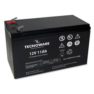 Batteria X Ups/antifurti/etc. 12v 11.0ah Tecnoware - Eacpe12v11atwb - 151x65x94+5 (lxpxh) Ermetica Al Piombo