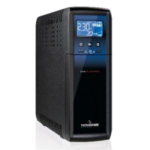 Ups Tecnoware Exa-plus 1500 -fgcexapl1500- 1500va/1050watt +2usb 2.1a Lcd-light Sinusoidale +avr +prot.rj45/11 +usb X Sw(da Web)