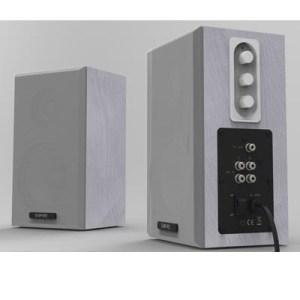 Casse X Lim Empire 64w Bianco Montaggio Parete Profondita' Ridotta A 12 Cm. Per Sicurezza Ambienti Scolastici