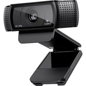 Webcam Logitech Retail C920 Hd Pro 3mp Mic 1080px Doppio Microfono Stereo Usb P/n 960-001055