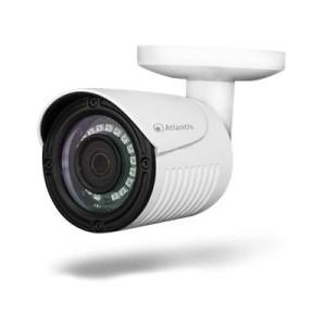 "Videocamera Atlantis A09-ahd-511b 1mpixel-sens.ottico 1/4""cmos Omniv.outdoor Ip66 18-ir Led Sino 12mt-ott.fissa 3.6mm 1280x720"