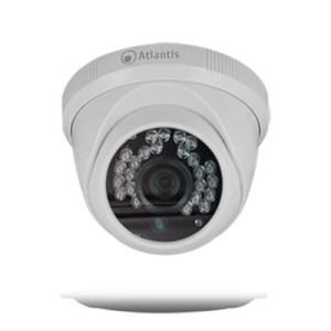 Videocamera Ip Atlantis A11-510a-d Bianca-1mpixel Dome 28led 1/4cmos- Ottica Fissa 2.8mm-supp.onvis/rtsp