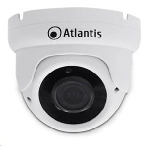 "Videocamera Ip Atlantis A11-ux825a-dp Supp.poe(a/b) Dome Bianca-2mp-ip66 Cmos1/2.9""-ott.fissa 3.6mm-ir Cut - Fino 18mt"