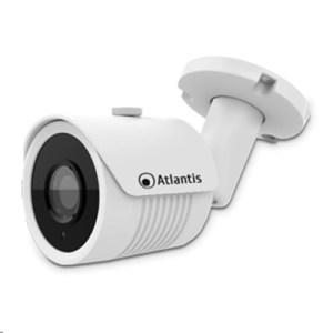 """Videocamera Ip Atlantis A11-ux915a-bp Poe Bullet Bianca-5mp-ip66 Cmos1/2.8""""-ottica Fissa 3.6mm-ir Cut-fino A 15mt"""