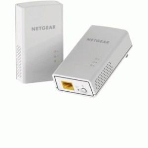 Kit Powerline Av 1200m Netgear Pl1200-100pes Composto Da 2pcs Di Pl1200 -garanzia 2 Anni