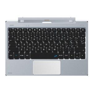 Tastiera Microtech E-keyboard Eks101pr Per Tablet Style Alluminio - 80 Tasti - Touchpad - 2xusb2.0