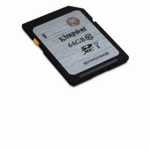 Secure Digital Memory Card 64gb Sd10vg2/64gb Kingston Class10 Uhs-i Read:45mb/s