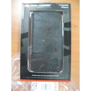 Custodia X Apple Iphone5 Scp40138 Swiss Charger Modello A Libro Con Inserto Staccabile