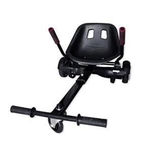 """Kart Smartix Sm99-overkart Nero- Compatibile Con Hoverboard 6.5/8/10""""- Supp.fino 100kg-sistema Anti Ribaltamento-peso 6kg"""